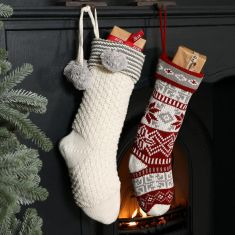 Chunky Knit Nordic Christmas Collection