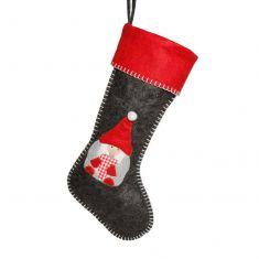 Gnome Heart Children's Christmas Stocking