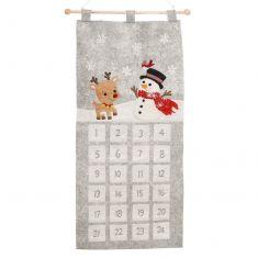 Reindeer and Snowman Family Advent Calendar
