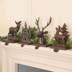 Woodland Bear Stocking Hanger Collection