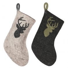 Reindeer Fair Trade Christmas Stockings