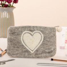 Fair Trade Love Heart Storage Pouch