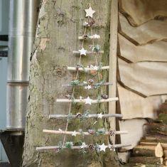 Winter Sparkle Christmas Tree Ladder