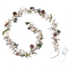 Winter Sparkle Light Up Christmas Garland
