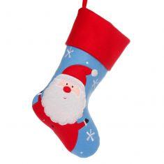 Soft Santa Children's Christmas Stocking
