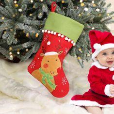 Pom Pom Characters Children's Christmas Stockings