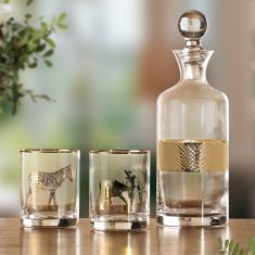 Exotic Gold Luxury Barware Collection