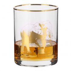 Gold Printed Elephant Tumbler