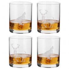 Set of 4 Gentleman's Whisky Tumblers
