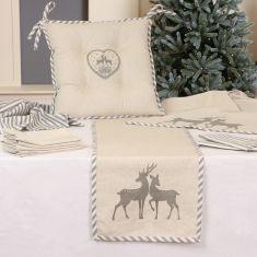 Deer & Doe Winter Table Linen