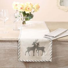 Country Stag Dining Linen Collection