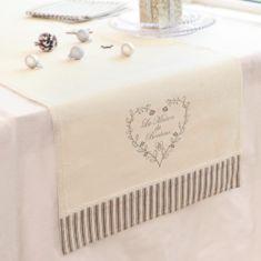 La Maison Bonheur Fabric Table Runner