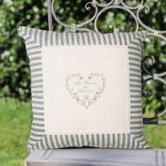 Bonheur Striped Garden Scatter Cushion Throw Pillow