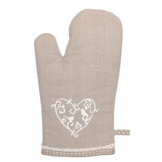 Love Birds French Country Oven Mitt