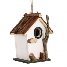 Alice White Hanging Bird House