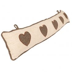 Delphina Heart Draught Excluder