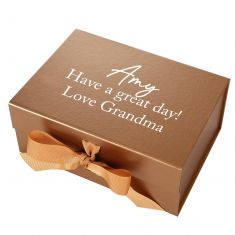 Personalised A5 Bronze Gift Box