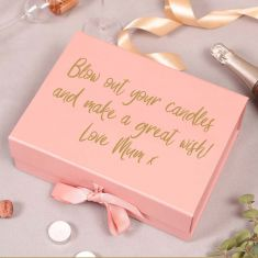 Personalised A4 Pink Gift Box