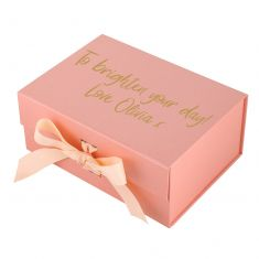 Personalised A5 Pink Gift Box