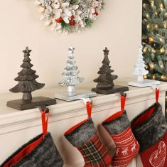 Christmas Tree Stocking Hangers