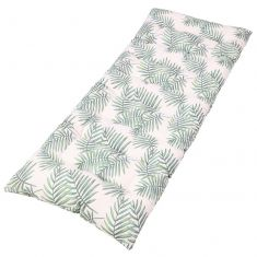 Botanical Fern Print Garden Bench Cushion