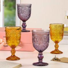 Summer Sundown Glassware Collection