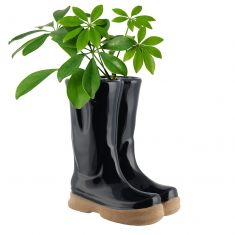Midnight Blue Wellington Boots Planter