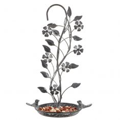 Ornate Hanging Bird Feeder Dish