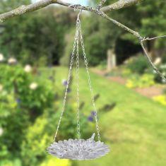 Hanging Sunflower Garden Bird Dish