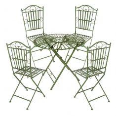Four Person Vintage Garden Bistro Dining Set