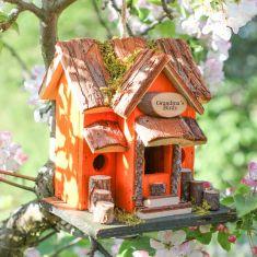 Personalised Sunset Lodge Wooden Birdhouse
