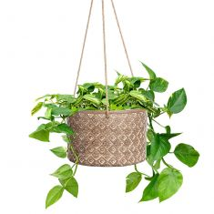 Extra Large Hanging Geometric Planter