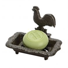 Vintage Rooster Soap Dish