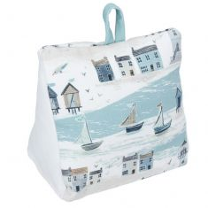 1kg Coastal Scene Fabric Cushion Doorstop