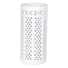 White Ceramic Umbrella Stand