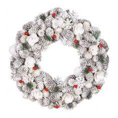 Extra Large Red Velvet Wreath 16