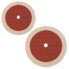 Highland Tartan Christmas Tree Skirts