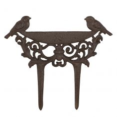 Love Birds Cast Iron Boot Scraper