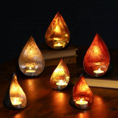 Cosy Christmas Glow Candle Holders