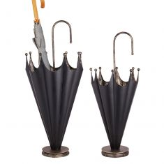 Black and Gold Umbrella Stand