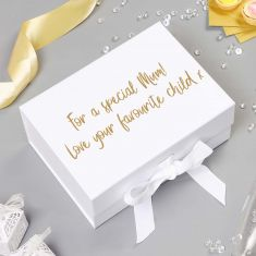 Personalised A5 Ivory Gift Box