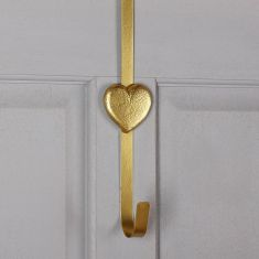 Heart Full of Gold and Silver Wreath Hangers