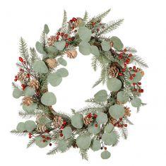 Mountain Spruce Wreath 24