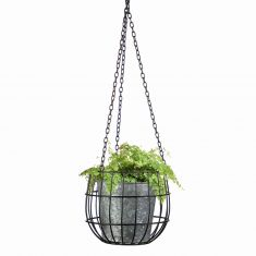Industrial Indoor Hanging Planter