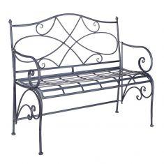 Heritage Grey Garden Bench