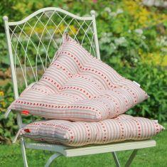 Set of 2 Bakewell Heart Alfresco Garden Seat Pads