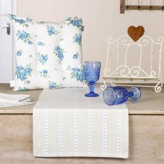 Blue French Country Farmhouse