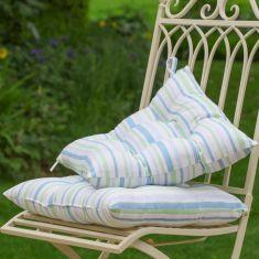 Set of 2 Tenby Striped Garden Seat Pads