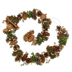 Woodland Walk Natural Finish Garland