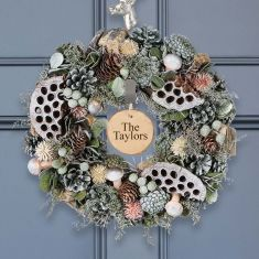 Personalised Forest Forager Wreath 14